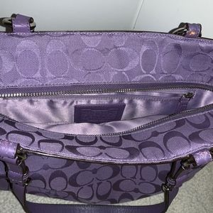 Coach Bags - Coach Signature East West Tote Bag K1161-F17725